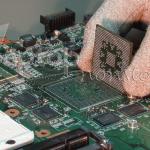Computer Reparatur Grafikchip