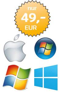 Software installation Windows, Macbook Neuinstallation